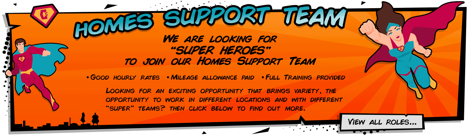 View our super Homes Support Team Jobs