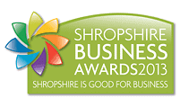 Shropshire Business Awards 2013 Logo